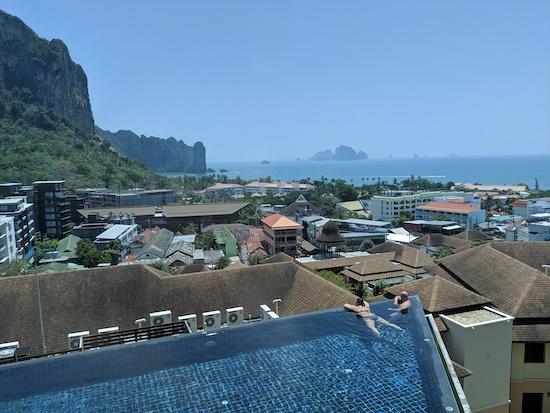 Aonang Cliff Beach Resort view