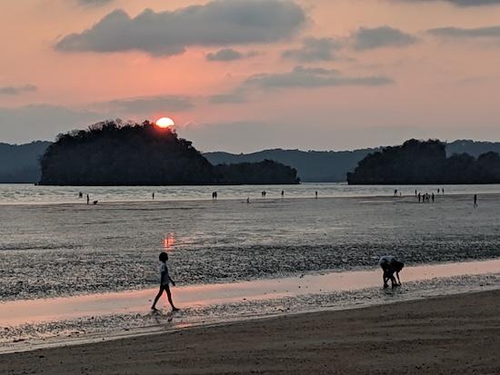 best sunset beach in krabi