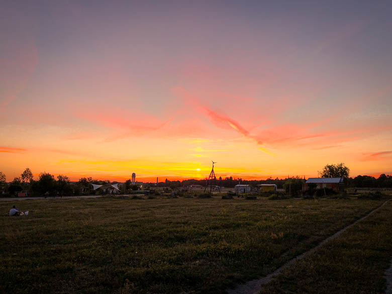 tempelhof field is the best place to watch sunsets in berlin