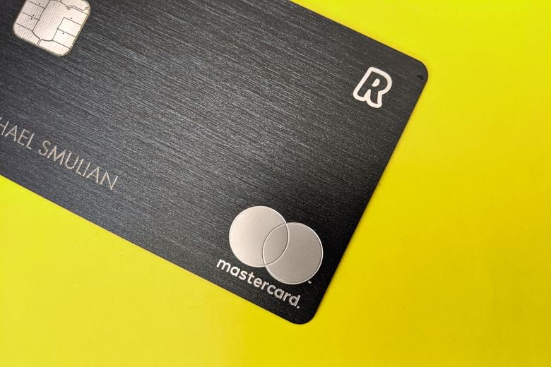Revolut metal travel bank card