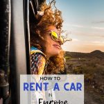pinnable image for cheap car rental in europe