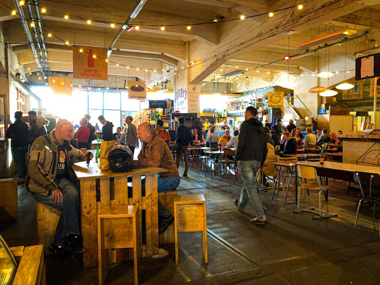 trendy food markets with cheap eats in rotterdam fenix food factory
