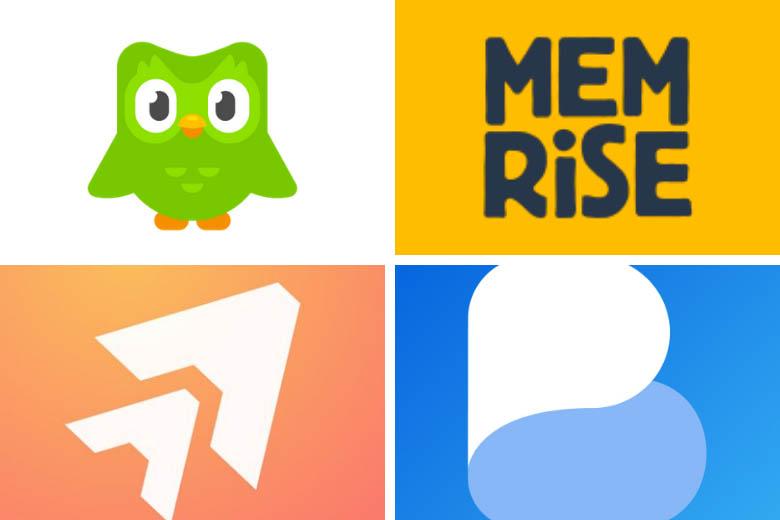 comparison of language learning apps duolingo, memrise, ankiapp, busuu, tinycards