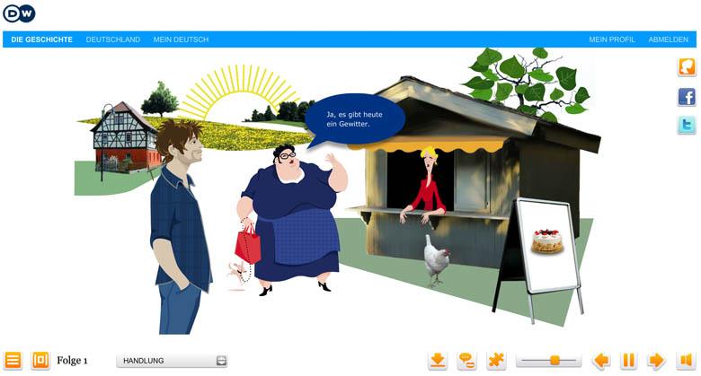 free interactive german classes online with deutsche welle