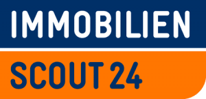 Immobilienscout24 online property rental portal logo