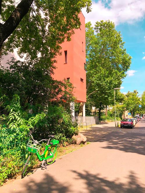 limebike ebike parked in berlin