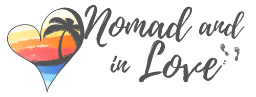 Nomad And In Love adventure travel guide logo