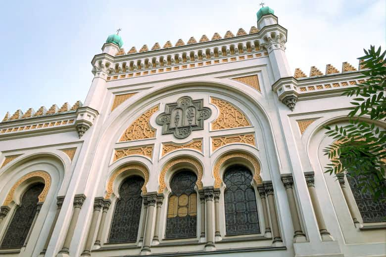 the spanish synanogue in prague jewish quarter is a hidden attraction in czech republic