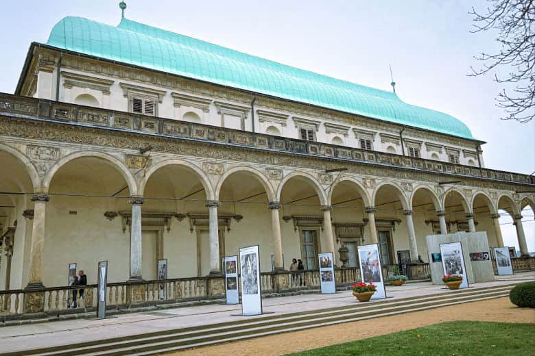 an art exhibition at queen anne's royal summer palace is a must on your prague weekend itinerary